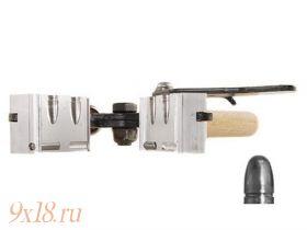 """Пулелейка ручная Lee (США) калибр 9,02 мм - .356"""", два гнезда, вес пули 125 гран (8,1 грамма), оживальная головная часть"""