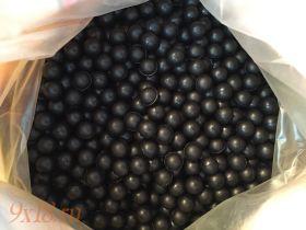 Шар резиновый  (пуля для травматического оружия) под патрон 10х28, диаметр 11.5 мм, тяжелые, вес 1.3 грамм, черный, упаковка 100 штук